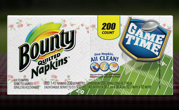 Bounty 200 Count Paper Napkins