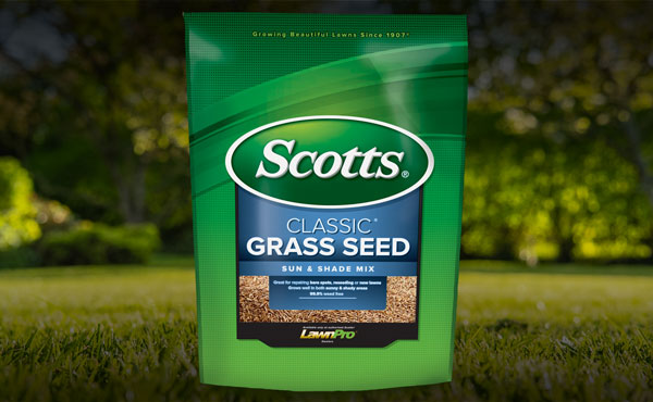 Scotts Classic Sun & Shade Grass Seed