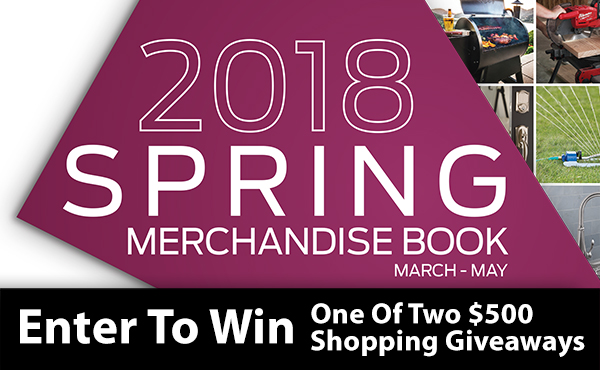 Spring Merchandise Book - $500 Giveaway